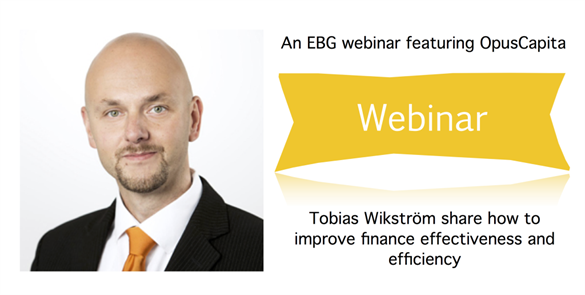 The webinar is for you who work with improving both efficiency and effectiveness in your accounts payable processes.