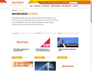 OpusCapita Knowledge Center is open