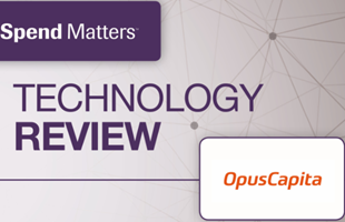 Technology Review of OpusCapita by Spend Matters