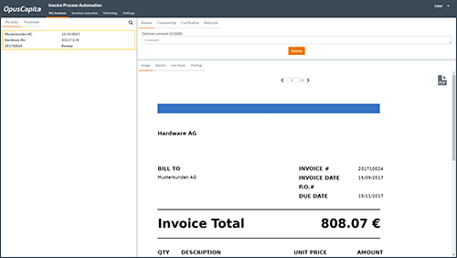 Steamline & automate your invoice handling